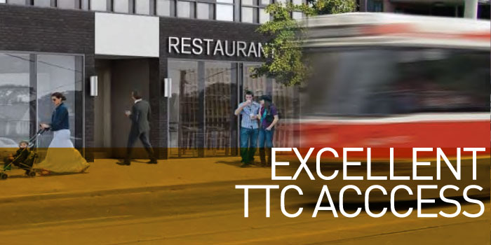 Excellent TTC Acccess