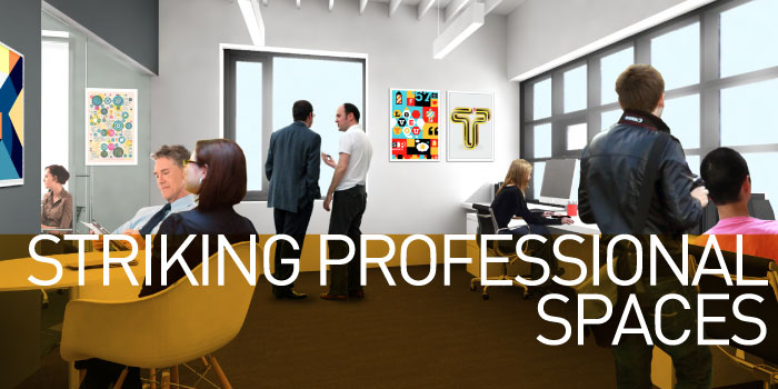 Striking Professional Spaces